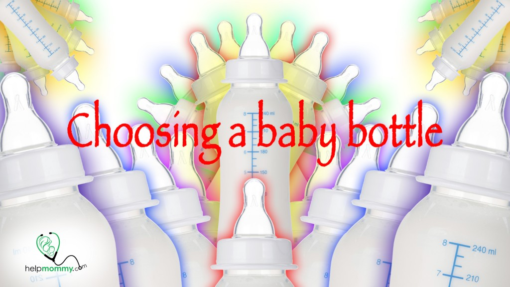 Choosing a baby bottle