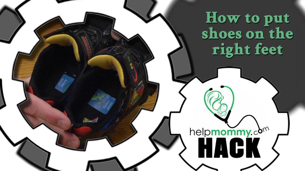 HACK_How to put shoes on the right feet
