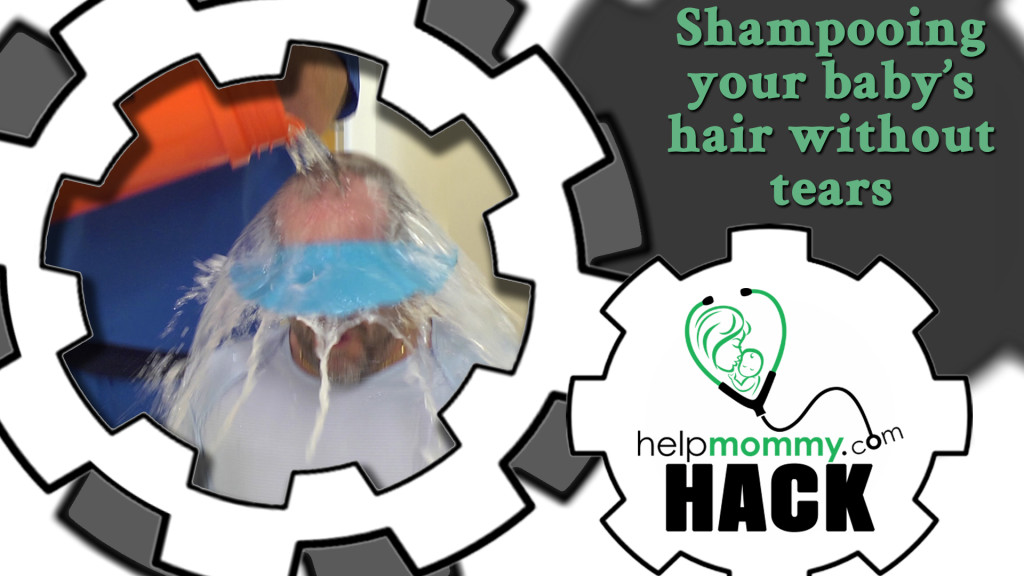 HACK_Shampooing your baby's hair without tears