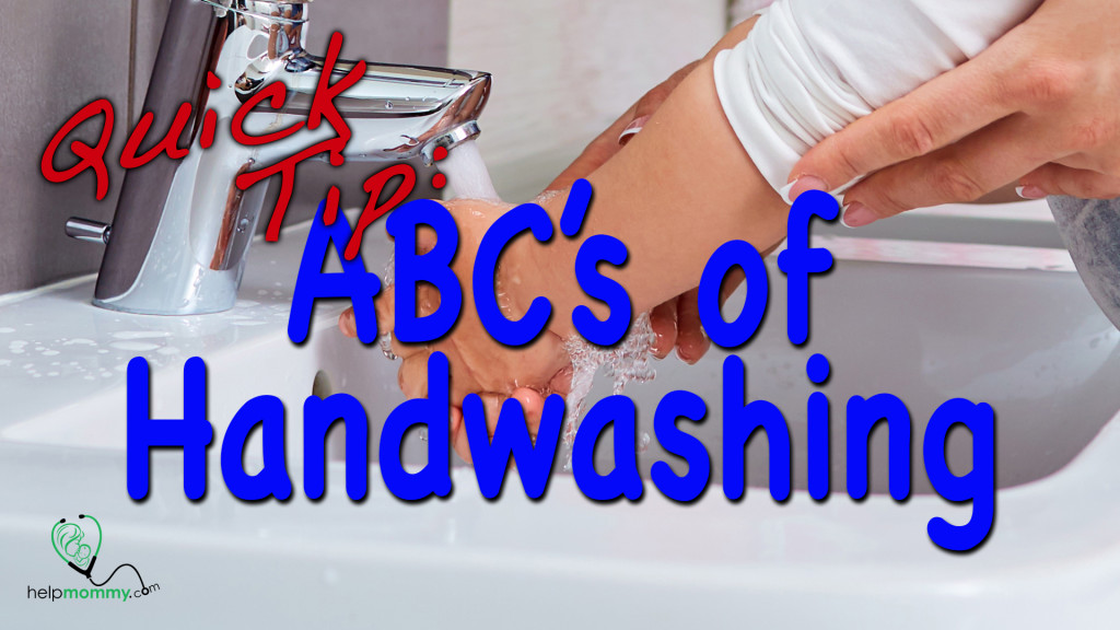 Quick Tip Hand washing