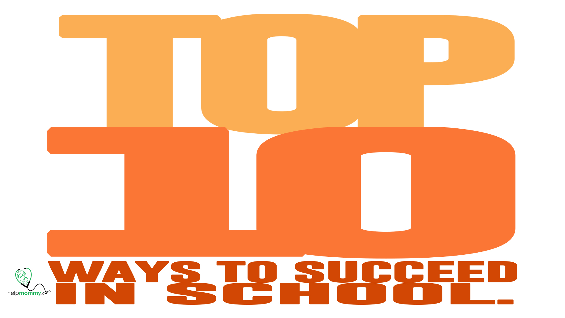 Top 10_Succeed in School