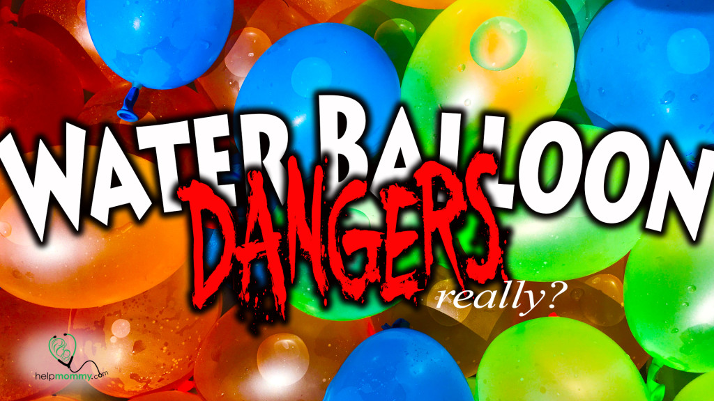 Water Balloon Dangers